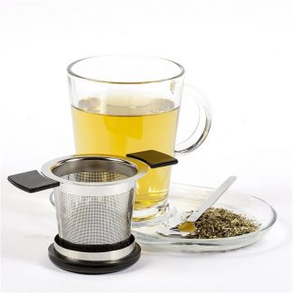 infuseur inox the tisane couvercle